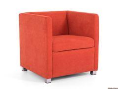 Fotela oranžová AVA NATY