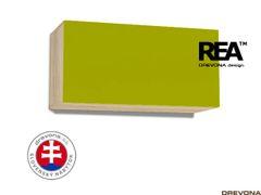 Skrinka dub bard/zelená REA REBECCA 7