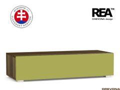 Skrinka orech rock/zelená REBECCA 2