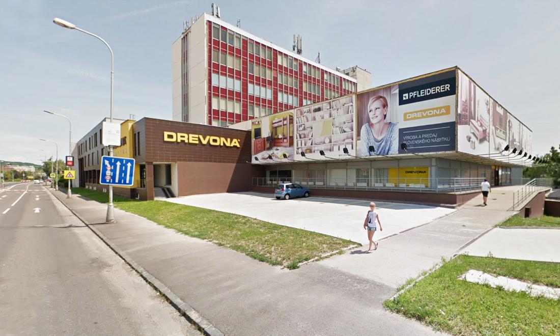 Nábytok Drevona Bratislava predajňa