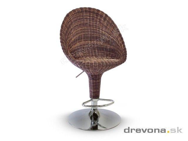 Barová stolička do exteriéru