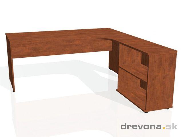 Písací stôl rohový