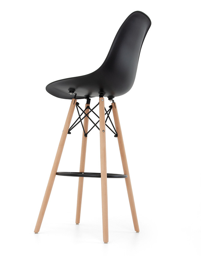 956399336ea9 Barová stolička čierna H-51
