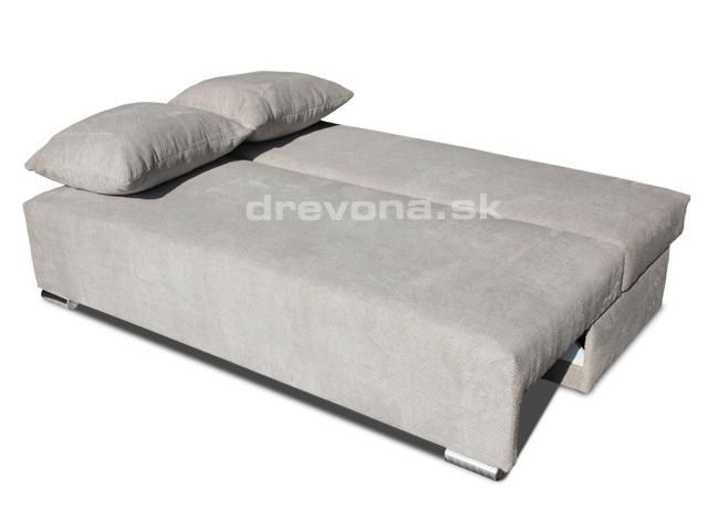 Pohovka na spanie béžová DAV - DREVONA