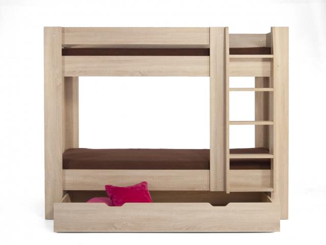 Poschodová posteľ dub REA PIKACHU