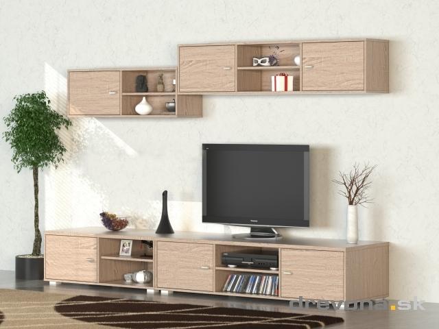 Nábytok Drevona - obývacie steny, matrace, sedačky