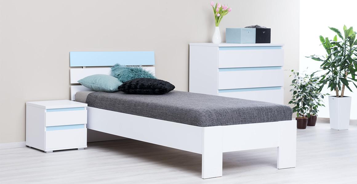 Drevená posteľ 80-90-120-140 cm