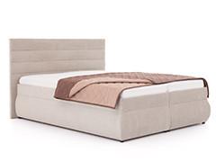 Čalúnené manželské postele