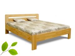 Manželské postele z masívneho dreva