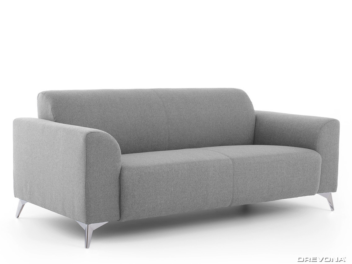 3-sed talianský design šedý AVA SIMPLY Inari 91