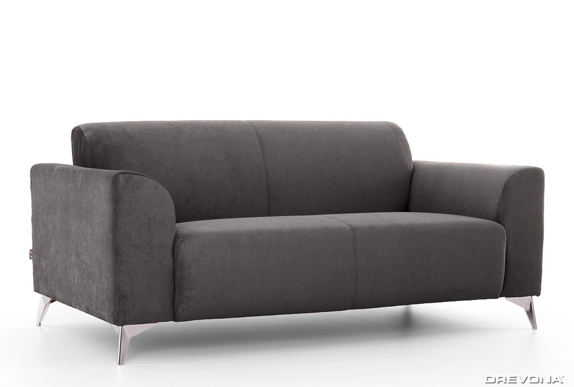 3-sed talianský design šedý AVA SIMPLY London 315