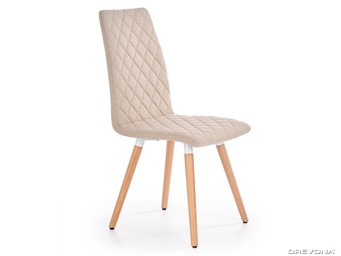 b7be26f462ac8 Jedálenská stolička béžová K282 | DREVONA