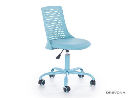 Detská stolička modrá PURE