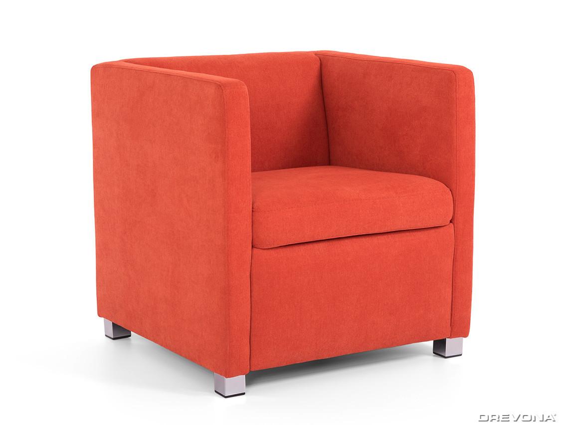 34b76c42a47a Klubové kresielko oranžové AVA NATY Soro 51