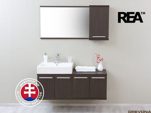 Zostava wenge kúpeľňa REA REST č.2
