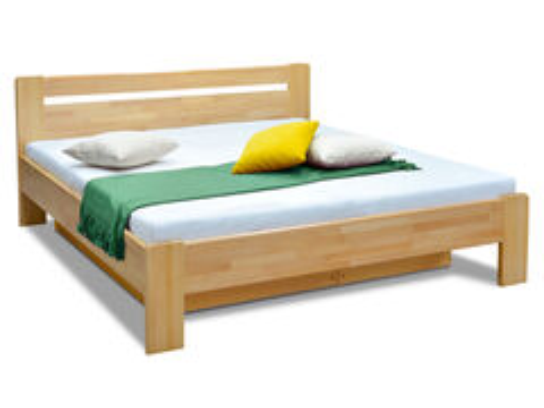 Masívna posteľ buk 180x200 KARS 2