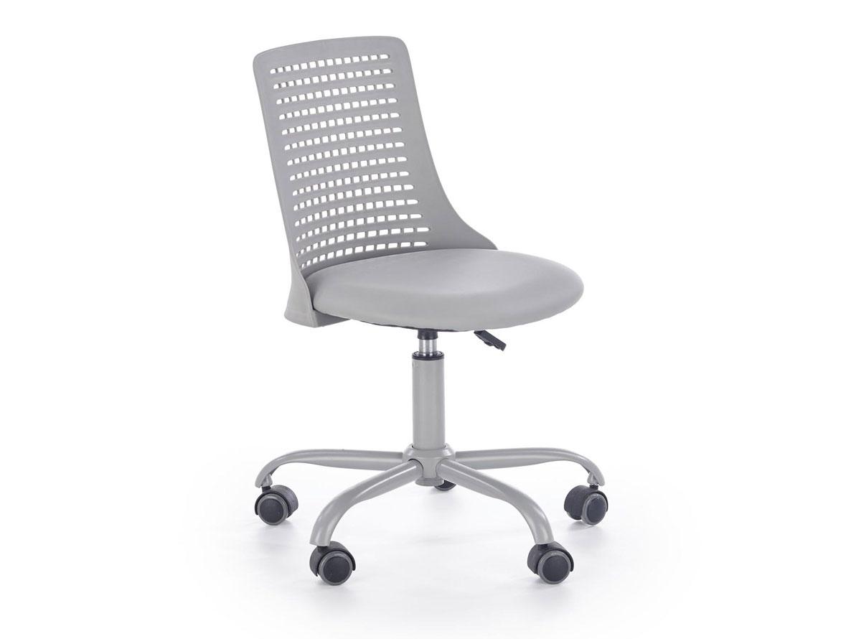 DREVONA09 Detská stolička sivá PURE