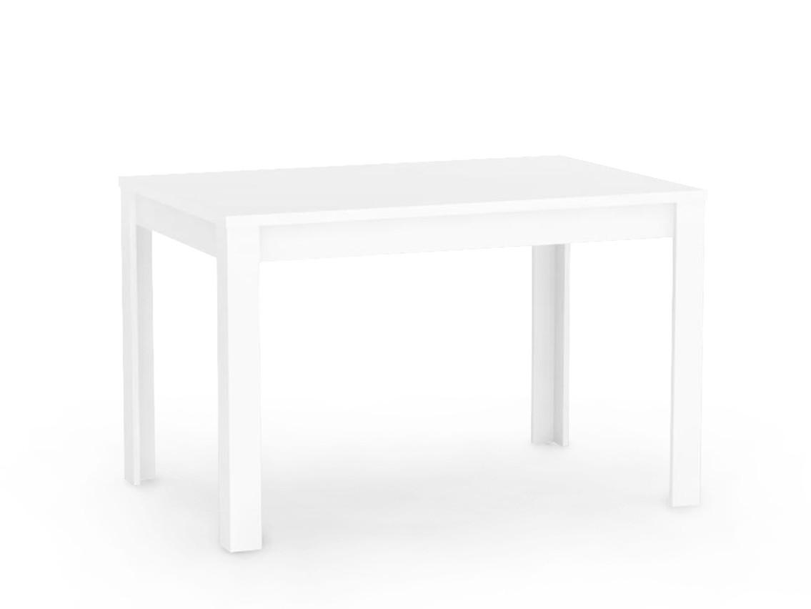 DREVONA09 Jedálenský stôl 120 x 80 biely TABLE