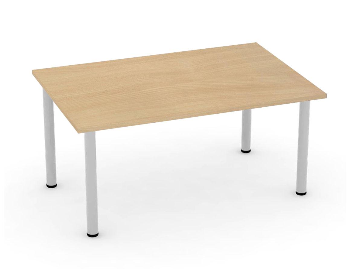 DREVONA09 Jedálenský stôl 120 buk 4 nohy FLAT 2