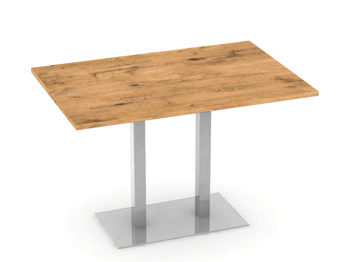 DREVONA09 Jedálenský stôl 120 x 80 dub lancelot FLAT 2
