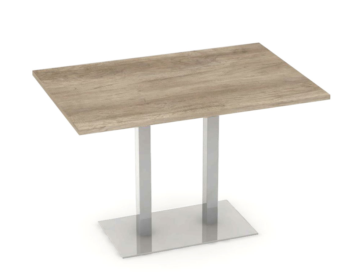 DREVONA09 Jedálenský stôl 120 x 80 dub canyon FLAT 2
