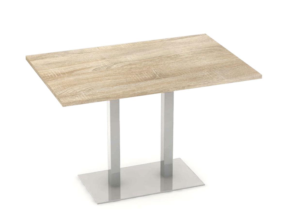 DREVONA09 Jedálenský stôl 120 x 80 dub bardolíno FLAT 2