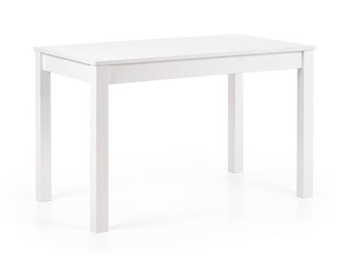 DREVONA09 Jedálenský stôl biely KSAVERY