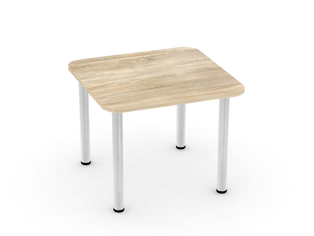 DREVONA09 Jedálenský stôl dub bardolino 80x80 REA FLAT 5