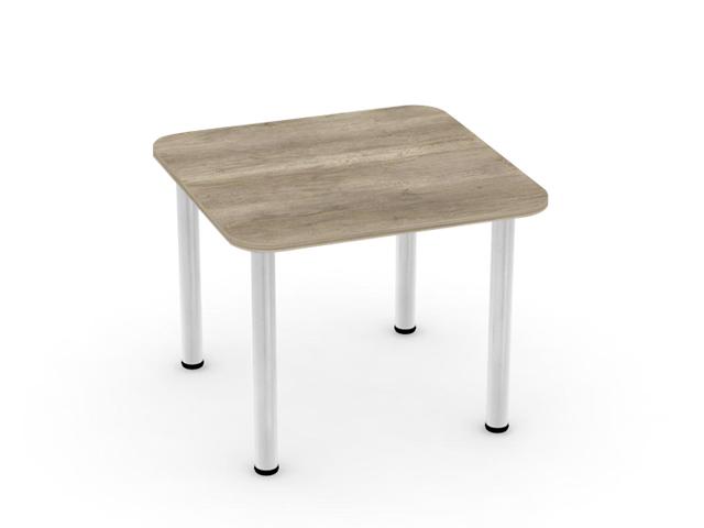 DREVONA09 Jedálenský stôl dub canyon 80x80 REA FLAT 5