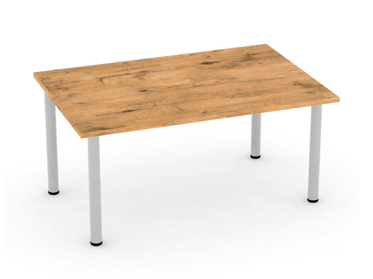 DREVONA09 Jedálenský stôl dub lancelot 4 nohy, FLAT 2