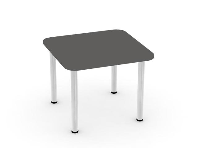 DREVONA09 Jedálenský stôl grafit 80x80 REA FLAT 5