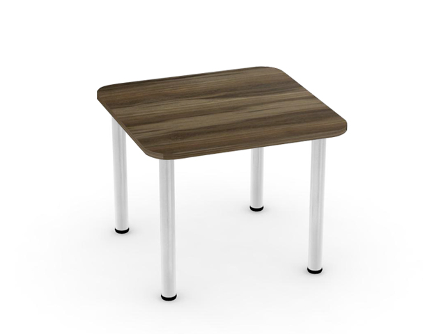 DREVONA09 Jedálenský stôl orech rockpile 80x80 REA FLAT 5