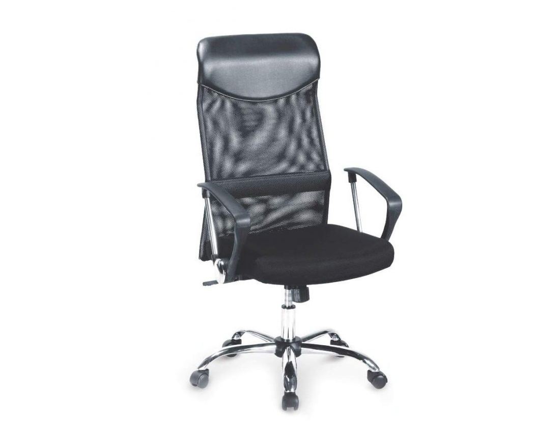 DREVONA09 Kancelárska stolička na kolieskach čierna VIRE