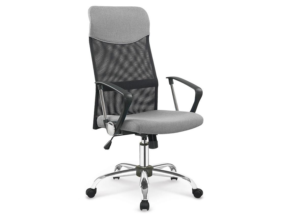 DREVONA09 Kancelárska stolička šedá VIRE 2