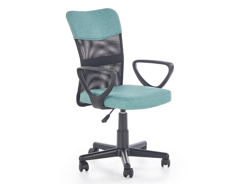 DREVONA09 Detská stolička pracovná tyrkysová TIMMY