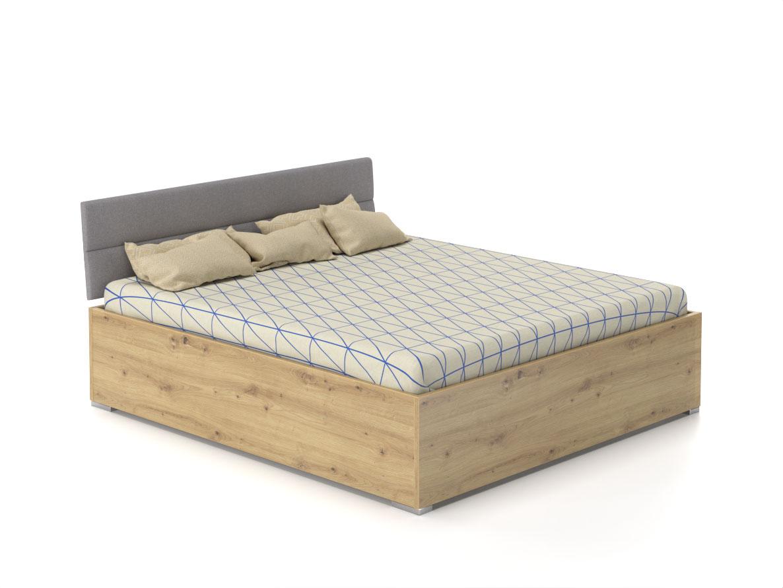 DREVONA09 Manželská posteľ 180x200 ROXI dub artisan