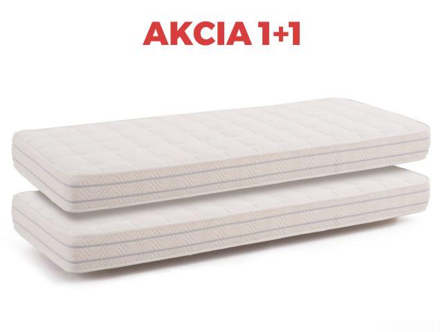 DREVONA11 Matrac akcia 1+1 80 cm MEMORY BASIC