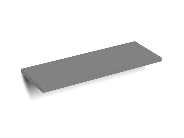DREVONA09 Polica na trny šedá grafit REA SKY - 40 cm