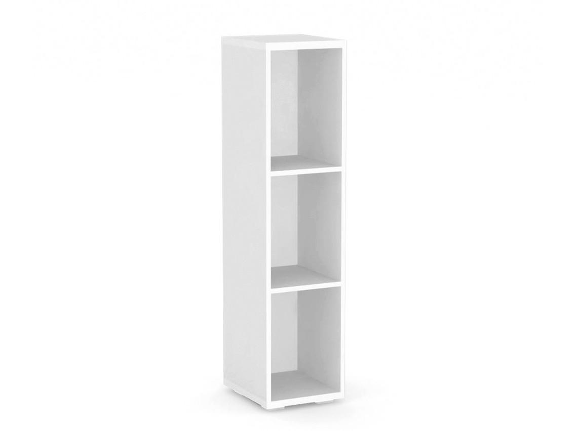 DREVONA09 Regál 30x124 cm biely REA STORE