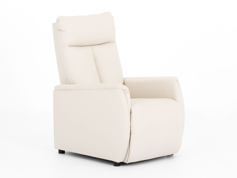 DREVONA09 Relaxačné kreslo béžové TAPIO, Madryt 912
