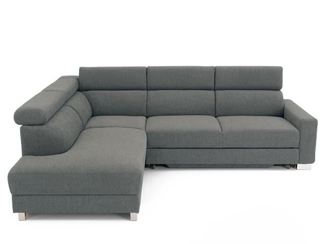DREVONA09 Rohová sedačka ľavá šedá AVA TEMPO Ocean 796