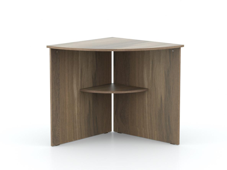 DREVONA09 Rohový stôl orech rockpile OFFICE 66