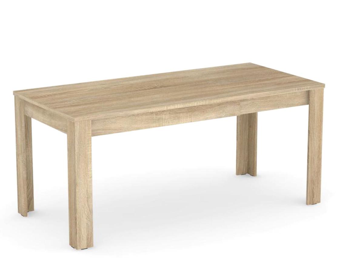 DREVONA09 Rozkladací jedálenský stôl dub bardolíno EXTE
