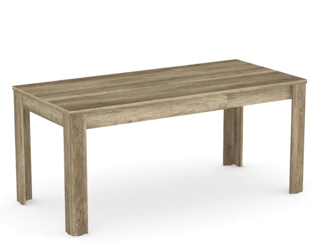 DREVONA09 Rozkladací jedálenský stôl dub canyon EXTE