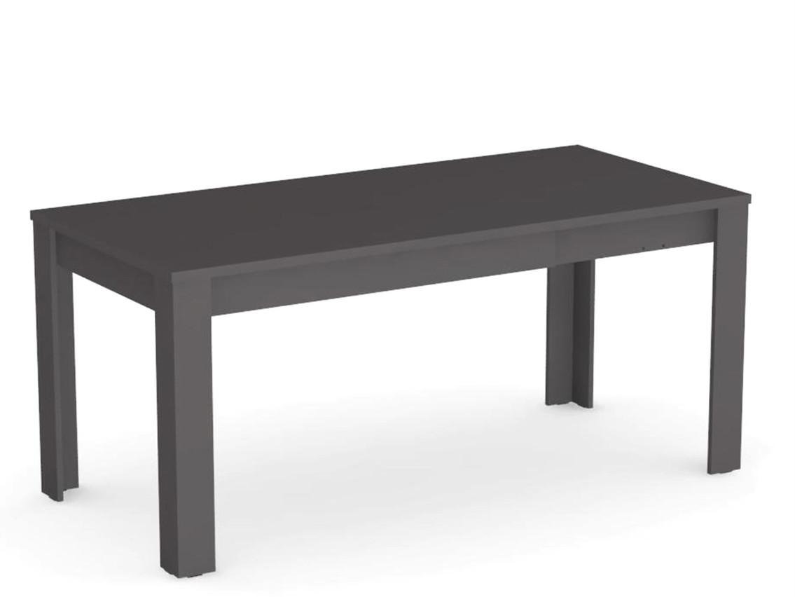 DREVONA09 Rozkladací jedálenský stôl šedý EXTE