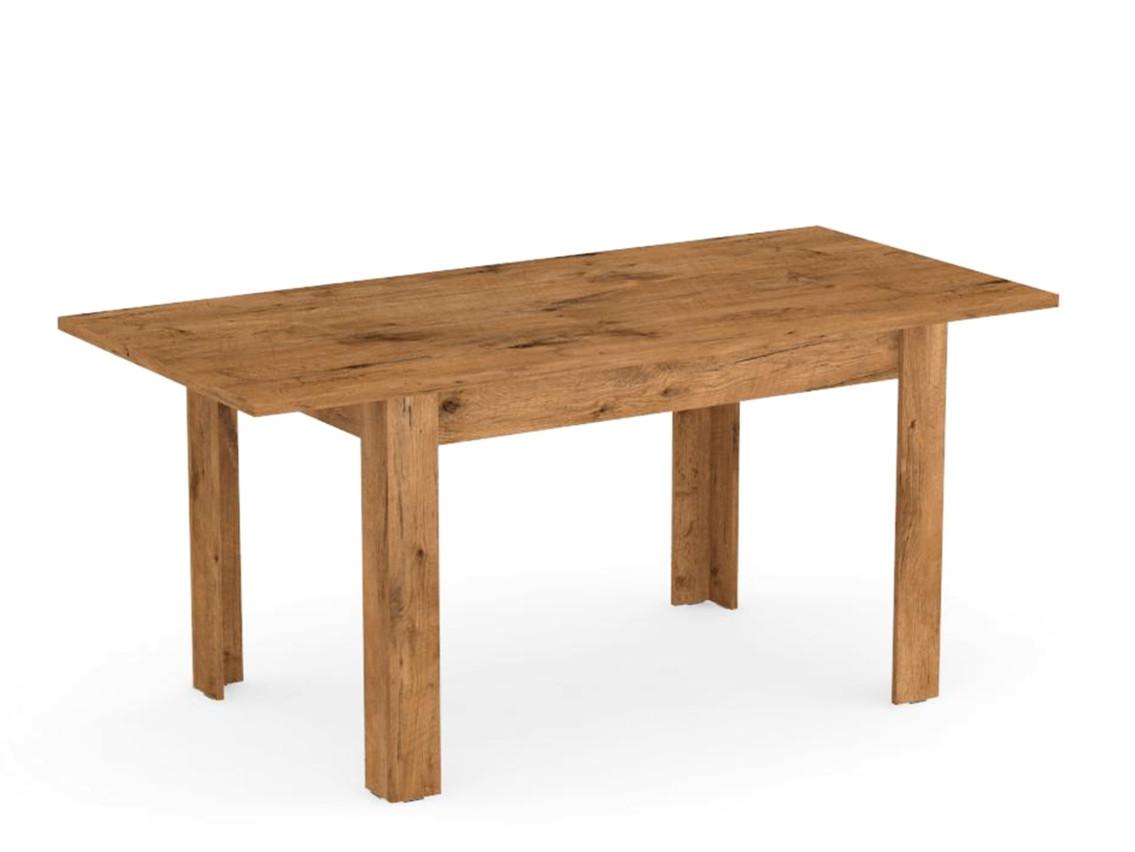 DREVONA09 Rozkladací stôl dub lancelot TABLE 2