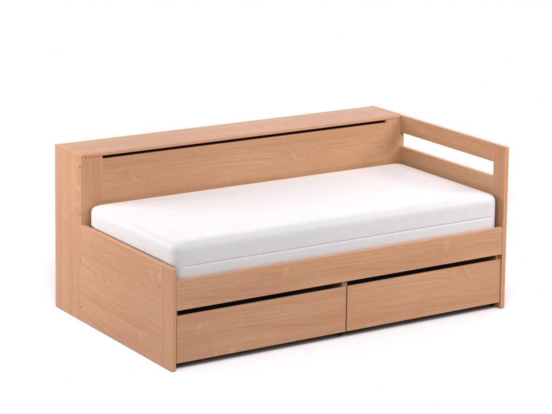 DREVONA09 Rozkladacia posteľ CROBAT buk