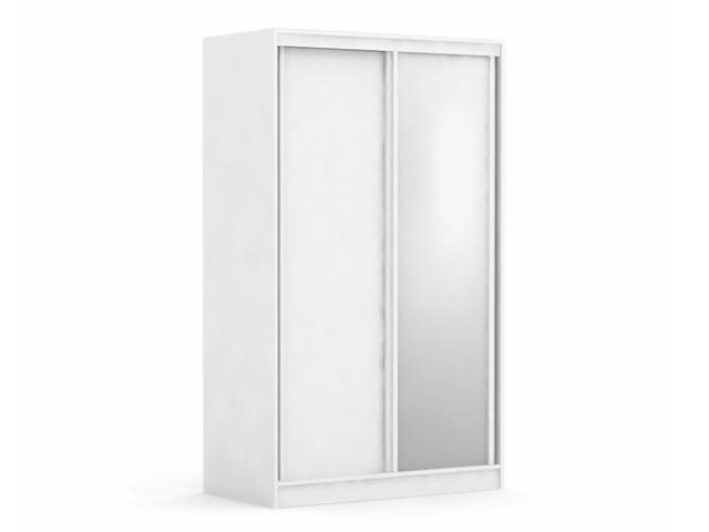 DREVONA09 Skriňa posuvné dvere biela ATLANTA 1