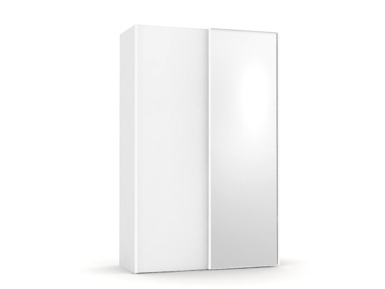 DREVONA09 Skriňa zrkadlová biela REA HOUSTON 4 ZR