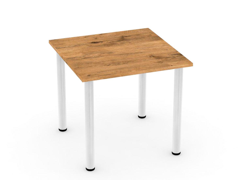 DREVONA09 Stôl 80 x 80 dub lancelot REA FLAT 1